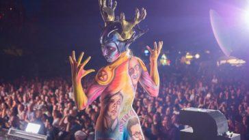 Największy festiwal bodypaintingowy