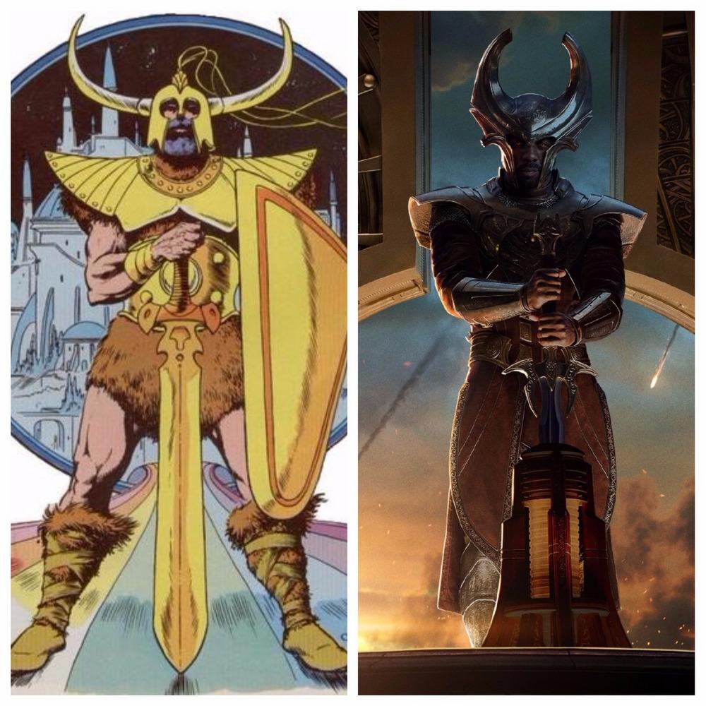 Idris Elba jakoHeimdall w Thorze