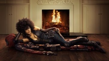 Domino Deadpool 2 Zazie Beetz i Ryan Reynolds