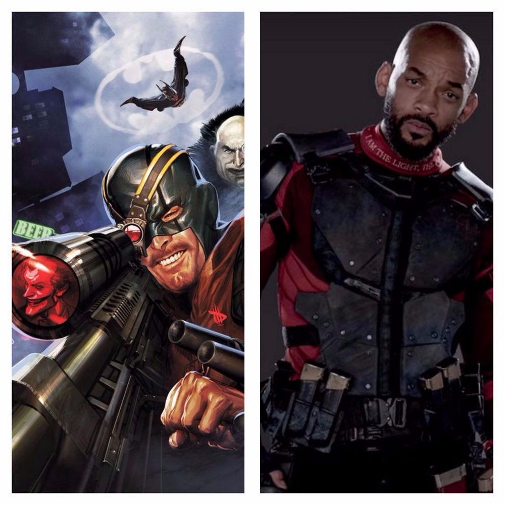 Will Smith jako Deadshot w Legionie samobójców