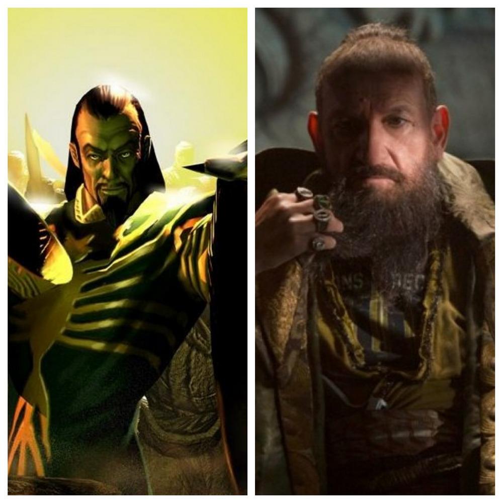 Ben Kingsley jako Mandaryn w Iron Manie 3