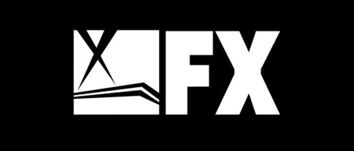 Logo stacji telewizyjnej FX