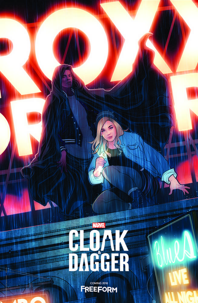 Plakat serialu Cloak and Dagger | Marvel, Freeform
