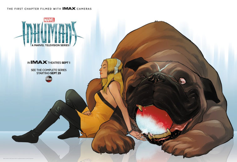 Plakat serialu Inhumans | Marvel, ABC