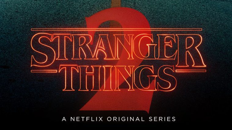 stranger things 2 logo