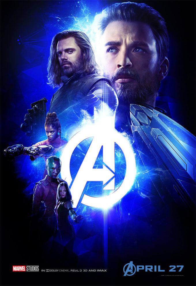 Avengers: Wojna bez granic plakat