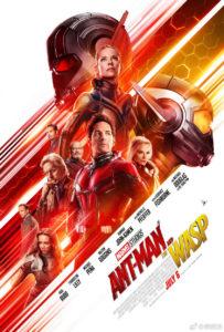 Plakat filmu Ant-Man i Osa (Marvel Studios)