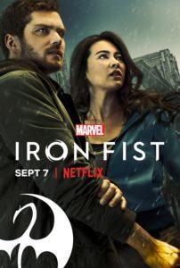 plakat serialu iron fist poster