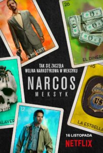 serial narcos meksyk plakat