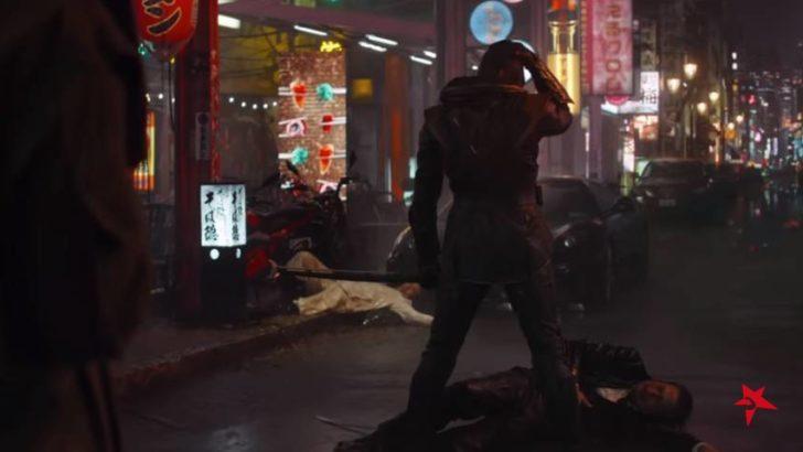 Jeremy Renner jako Ronin w filmie Avengers: Endgame (Marvel Studios)