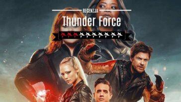Thunder Force Netflix film recenzja